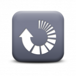 118677-matte-grey-square-icon-arrows-arrow-circle-refresh
