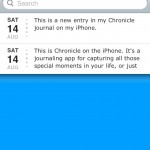 chronicleforiphone