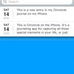 chronicleforiphone