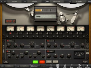 AmpliTube version 2.0 (iPad) - Track Recorder