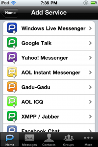 Palringo Instant Messenger Premium by Palringo Limited screenshot
