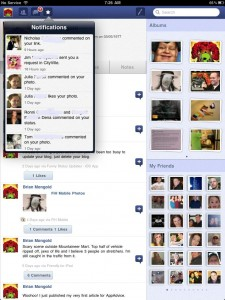 Friended - facebook for iPad by NapkinStudio.com screenshot