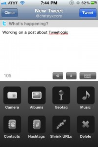 Tweetlogix for Twitter by Onloft Software LLC screenshot