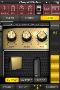 AmpliTube version 2.0 - Lead Amp