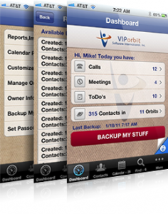 VIPorbit® by VIPorbit Software screenshot