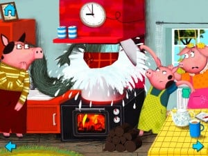The Three Little Pigs-Nosy Crow interactive storybook by Nosy Crow screenshot