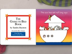 The Going to Bed Book for iPad by Loud Crow Interactive Inc. screenshot
