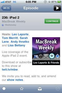 Instacast by Vemedio screenshot