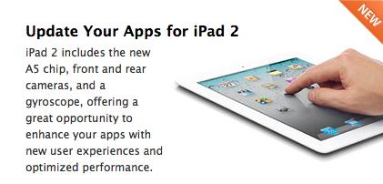Zpráva v iOS Dev Centru