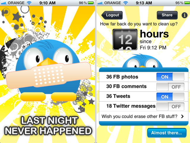 "Last Night Never Happened: The ""Morning-After"" App Arrives"