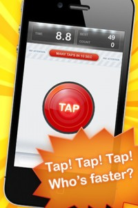 Zap Tap Pro * Fastest Finger on earth by haha Interactive screenshot