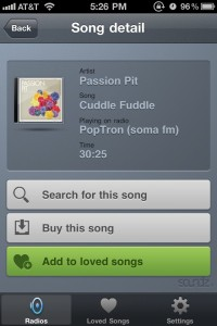 soundz.fm by BONET Development screenshot