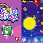 Coin Drop! (iPhone 4) - Main Menu and Gameplay