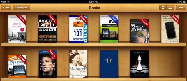 Apple aktualizoval iBooks