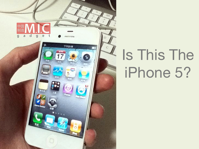 new iphone 5 pictures. New quot;iPhone 5quot; Photos Surface,