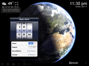 Living Earth HD version 1.2 (iPad) - Alarm