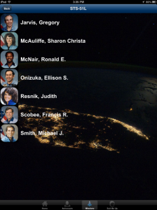 AstroApp: Space Shuttle Crew by NASA screenshot