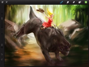 procreate by Savage Interactive Pty Ltd screenshot