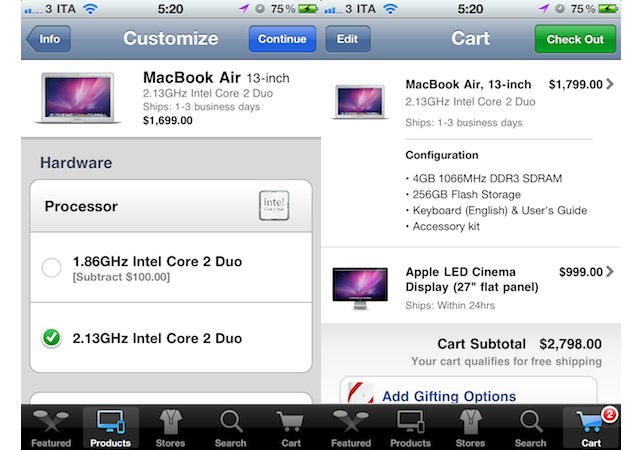 Приложение Apple Store обновилось в AppStore. 10% рынка электронных книг п