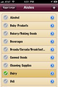 IntelliShop - Shopping List by Mario Zullo screenshot
