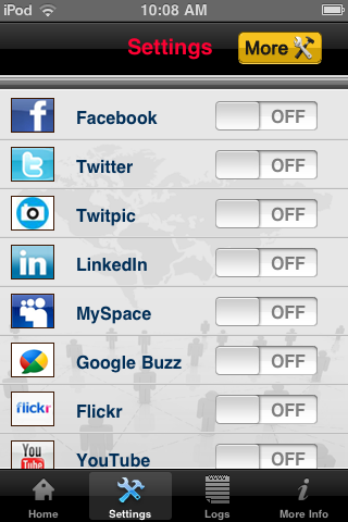 MySocialMania by Steven J. Wilson screenshot