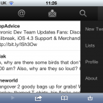 Twitter Mobile offers a much improved interface