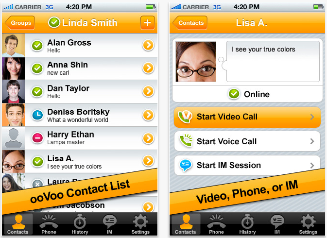 Enjoy Six Way Video Calls With Oovoo Mobile, A Free App For The