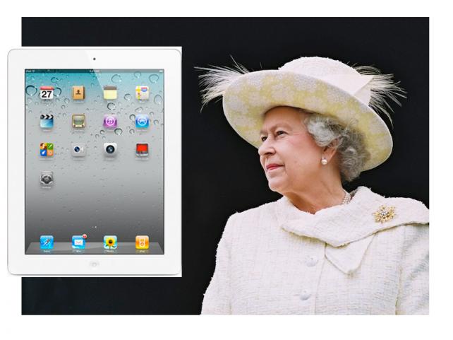 iPad má už i královna Alžběta II.