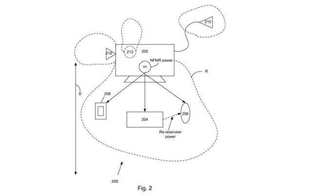 Nový patent Applu - Bezdrátové nabíjení