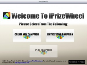 iPrizeWheel HD by NewReleaseTuesday.com screenshot