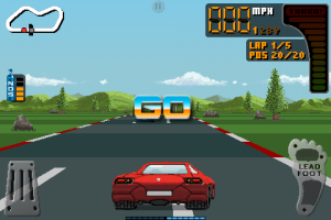 8 Bit Rally by Photon Creations screenshot