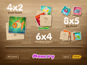 Memory (Pairs Matching Game) by PopAppFactory screenshot