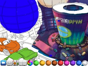 Cars 2 Storybook Deluxe - Paint