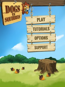 Dogs vs Squirrels by Chaotic Moon Studios, LLC. screenshot