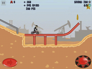 Stickman BMX HD by Traction Games screenshot