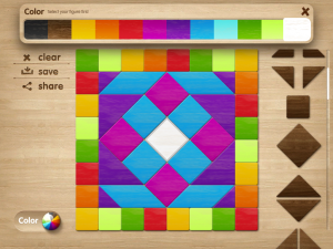 Tangram Puzzles by PopAppFactory screenshot