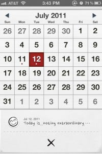 My Wonderful Days * Everyday note for my daily life by haha Interactive screenshot