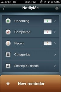 NotifyMe 2: ToDo in cloud by PoweryBase Inc. screenshot