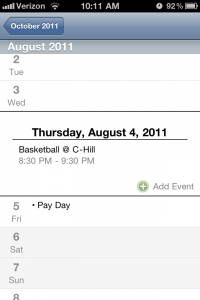 Scrollendar by Tea Mountain Software screenshot