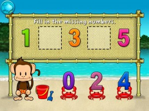 Monkey Math School Sunshine by THUP Games screenshot