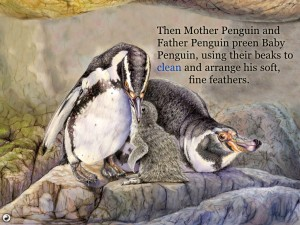 Penguin's Family (iPad) - Read It To Me
