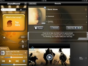 SoundHound (iPad) - Song ID