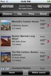 Marriott International by Marriott International screenshot
