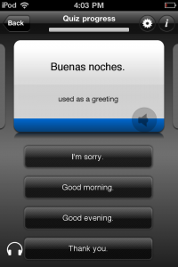 Byki Spanish by Transparent Language, Inc. screenshot