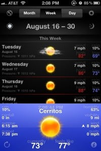 WeatherSnitch™ 2 by SnitchWare Inc. screenshot