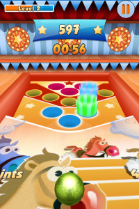 Toss The Ball by Namco Networks America Inc. screenshot