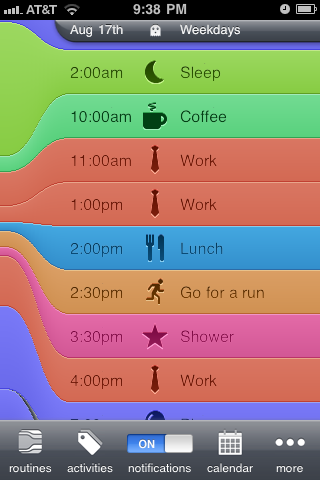 daily scheduler app