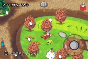 Viking vs. Chickens by Uplay Mobile Ltda screenshot