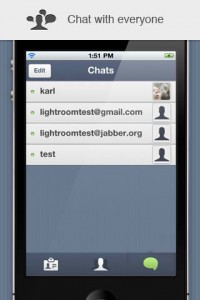 TalkRoom for iPhone by Light Room screenshot
