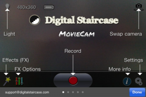 MovieCam Go by Digital Staircase Inc. screenshot